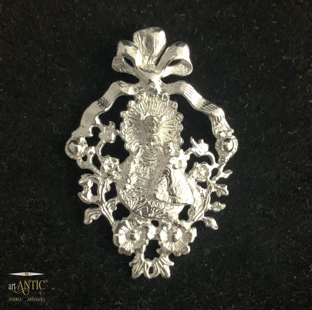 medallón Virgen Art Antic